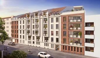 Nancy programme immobilier rénové « Les Deux Rives » en loi pinel