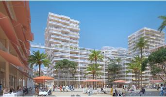 Nice programme immobilier neuve « JOIA - Résidences Reva et Sola » en Loi Pinel  (3)
