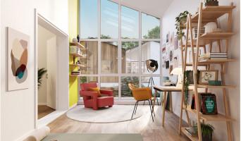Mérignac programme immobilier neuve « Les Ateliers d'Iris »  (4)