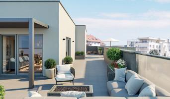 Lyon programme immobilier neuve « Esprit Lumière » en Loi Pinel  (4)