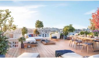 Clichy programme immobilier neuve « Boréales » en Loi Pinel  (2)