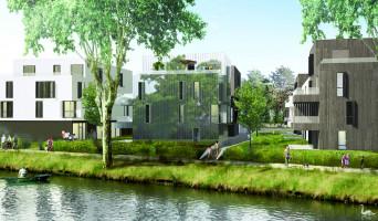 Strasbourg programme immobilier rénové « Les jardins d'O » en loi pinel