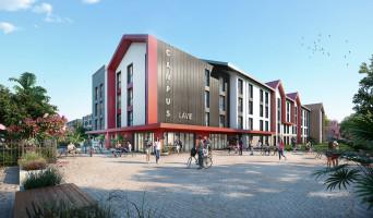 Pau programme immobilier neuve « Campus Lavie »