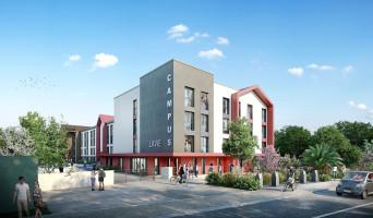 Pau programme immobilier neuve « Campus Lavie »  (2)