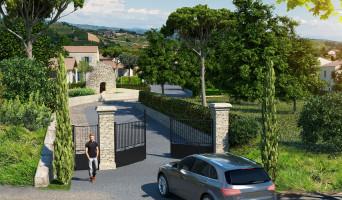 Goult programme immobilier neuve « Le Domaine de la Borie »  (2)