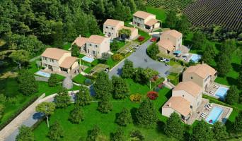 Goult programme immobilier neuve « Le Domaine de la Borie »  (3)