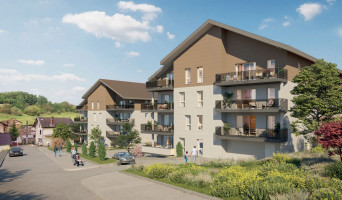 Frangy programme immobilier neuf « Terrasses Vinéa »