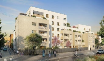 Lyon programme immobilier rénové « Villa Solal » en loi pinel