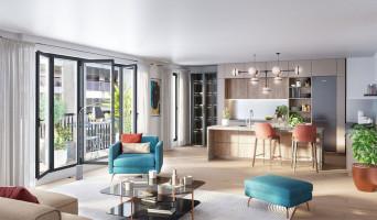 Paris programme immobilier neuve « Belleville – Télégraphe »