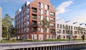 Saint-André-lez-Lille programme immobilier neuf « Quai des Mariniers » en Loi Pinel