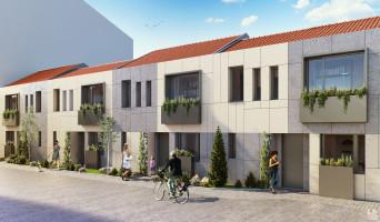 Bordeaux programme immobilier neuf « Les Échoppes Palais Gallien Fondaudège »