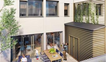 Bordeaux programme immobilier neuve « Les Échoppes Palais Gallien Fondaudège »  (2)
