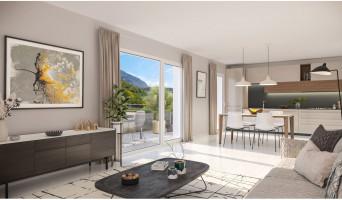 Challes-les-Eaux programme immobilier neuve « Eloge du Château » en Loi Pinel  (3)