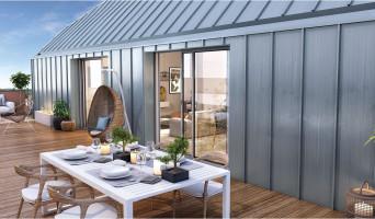 Toulouse programme immobilier neuve « Les Camélias » en Loi Pinel  (2)