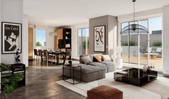 Toulouse programme immobilier neuve « Les Camélias » en Loi Pinel  (3)