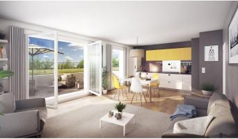 Mons-en-Barœul programme immobilier neuve « Axiome » en Loi Pinel  (3)