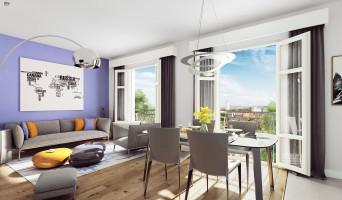 Pontoise programme immobilier neuve « Les Nymphéas » en Loi Pinel  (2)