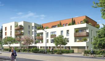 Saint-Priest programme immobilier rénové « Pavillon Jaurès » en loi pinel