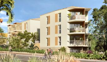 Cannes programme immobilier neuve « Jacaranda » en Loi Pinel  (2)