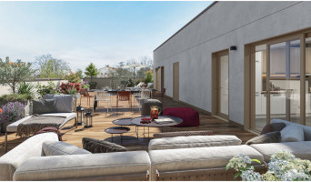 Sainte-Foy-lès-Lyon programme immobilier rénové « Esprit Domaine » en loi pinel