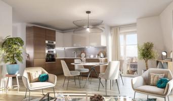 Gagny programme immobilier neuve « Allure » en Loi Pinel  (2)
