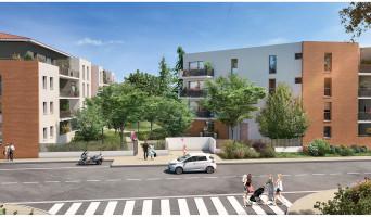 Toulouse programme immobilier neuve « Le Jardin de Marius »  (2)