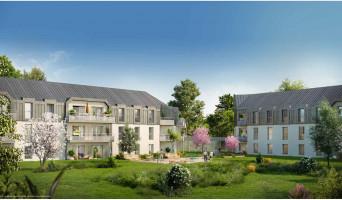 Cholet programme immobilier neuve « Les Girandières les Jardins de la Moine »