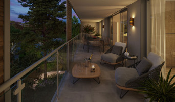 Nîmes programme immobilier rénové « Domaine de la Pinède » en loi pinel