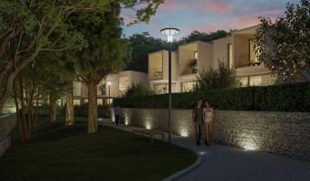 Nîmes programme immobilier neuve « Domaine de la Pinède » en Loi Pinel  (4)