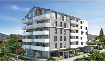 Cluses programme immobilier neuf « Le Saphir » en Loi Pinel