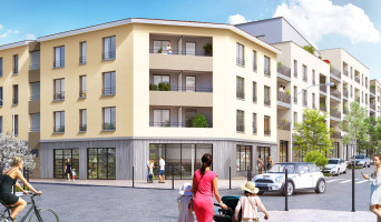 Vénissieux programme immobilier neuve « Horizon » en Loi Pinel  (2)