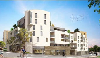 Montpellier programme immobilier neuf « Urban Essence - Bât. A