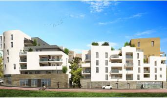 Montpellier programme immobilier neuve « Urban Essence - Bât. A » en Loi Pinel  (2)