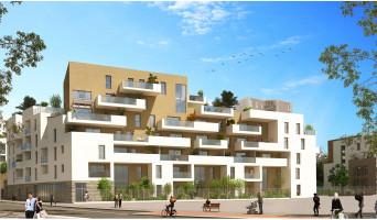 Montpellier programme immobilier neuve « Urban Essence - Bât. A » en Loi Pinel  (3)