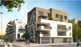 Montpellier programme immobilier neuve « Urban Essence - Bât. B/C » en Loi Pinel  (4)