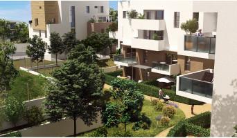 Montpellier programme immobilier neuve « Urban Essence - Bât. B/C » en Loi Pinel  (5)