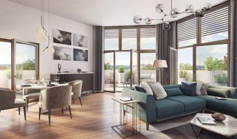 Lyon programme immobilier neuve « Arty » en Loi Pinel  (2)