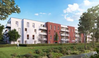 Gisors programme immobilier neuve « Les JArdins de Pissarro » en Loi Pinel