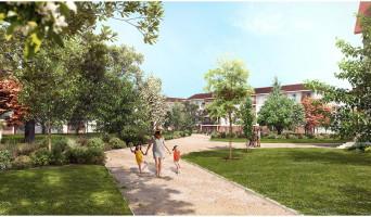 Dammarie-les-Lys programme immobilier neuve « Domaine des Grands Chênes » en Loi Pinel  (2)