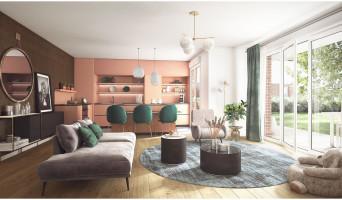 Dammarie-les-Lys programme immobilier neuve « Domaine des Grands Chênes » en Loi Pinel  (4)