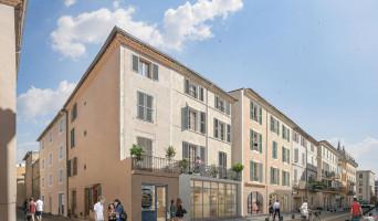 Nîmes programme immobilier à rénover « Patio Auguste » en Loi Malraux