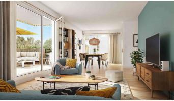 Nantes programme immobilier neuve « Les Jardins d'Antoine » en Loi Pinel  (4)