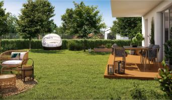 Toulouse programme immobilier neuve « Hameau Dhuoda »  (2)