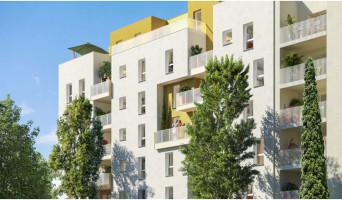 Vénissieux programme immobilier neuve « Irisea » en Loi Pinel  (2)