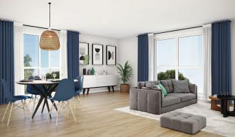 Thoiry programme immobilier neuve « Les Bruyères »  (2)