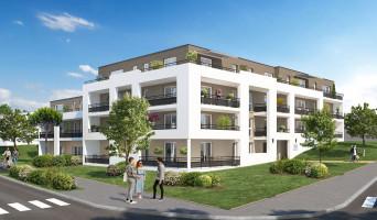Grand-Couronne programme immobilier rénové « Jardins Romane » en loi pinel