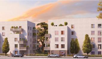 Lyon programme immobilier rénové « Vert Million » en loi pinel