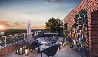 Quesnoy-sur-Deûle programme immobilier neuve « Côté Rive » en Loi Pinel  (2)