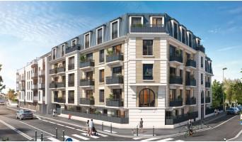 Aulnay-sous-Bois programme immobilier neuve « Cours Boileau » en Loi Pinel