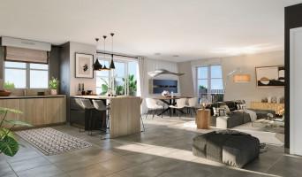 Aulnay-sous-Bois programme immobilier neuve « Cours Boileau » en Loi Pinel  (3)